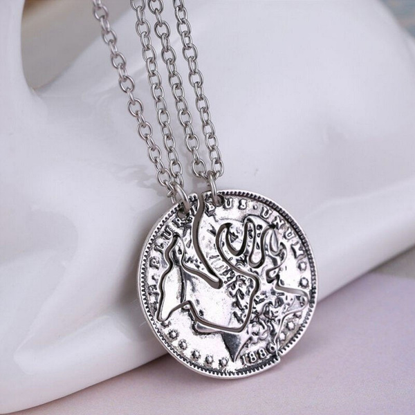 Wish steampunk silver tone deer necklace crystal pendant jewelry wish steampunk silver tone deer necklace crystal pendant jewelry gift chain couple 2p mozeypictures Choice Image