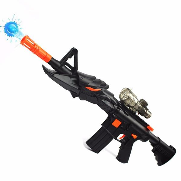 M16 Powerful Water Ball Blaster Dart Gun With Sight Power Long Range  Shooting Rifle Shoots Water Bullet Blaster Similar Nerf Gun Toy