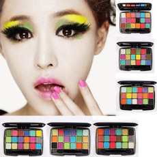 Professional 18 Colors Fine Eyeshadow Eye Shadow Baking Powder Makeup Palette
