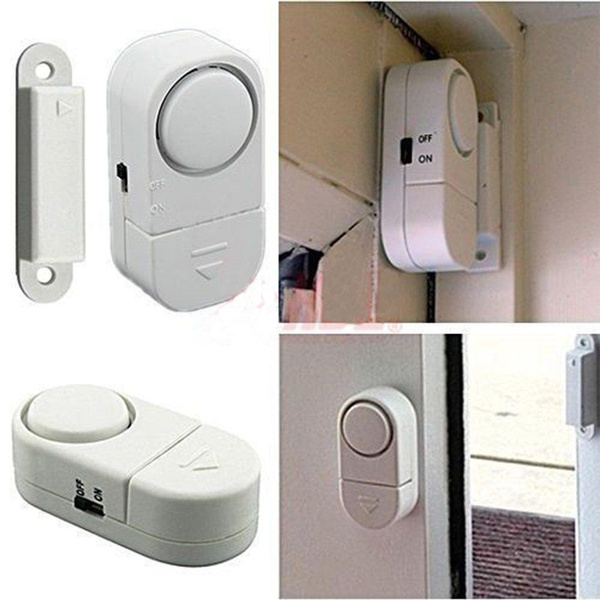 Picture of Wireless Home Security Door Window Entry Alarm Warning System Magnetic Sensor