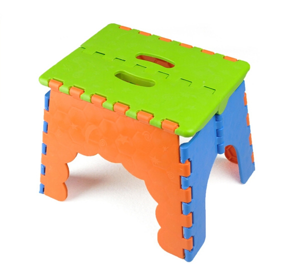 Tremendous Plastic Foldable Step Stool Chair Camping Fishing Kids Children Folding Seat Collapsible Step Stool Random Color 22 X 17 X 18 Cm Caraccident5 Cool Chair Designs And Ideas Caraccident5Info