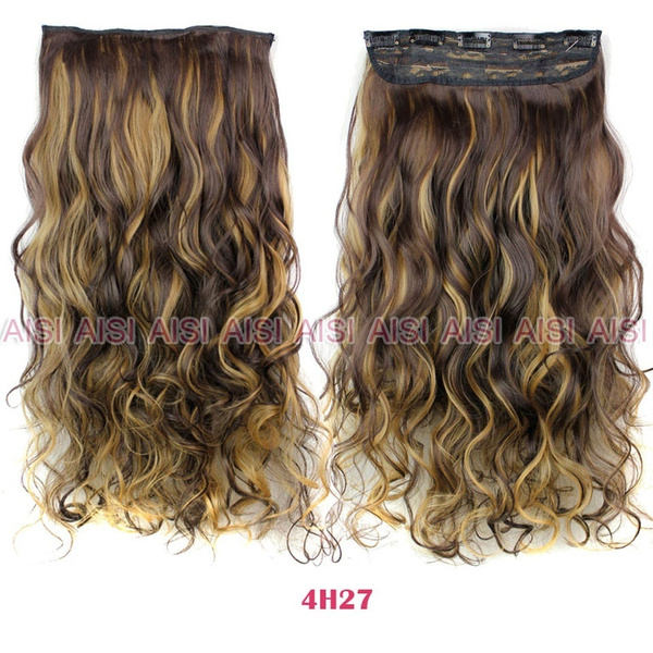 Wish Hairpiece Blonde Secret Hair Pad Pieces Fashions Women Long