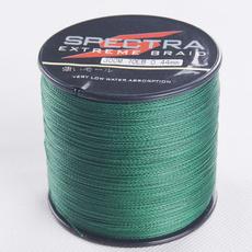 Top quality SPECTRA 4 strand 300m/330yard 6-100LB moss green 100% PE braided fishing line