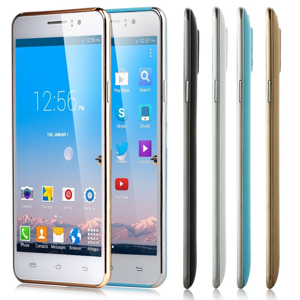 5'' 3G Unlocked Android AT&T T-mobile Cell Phone Smartphone Straight Talk  GSM GPS