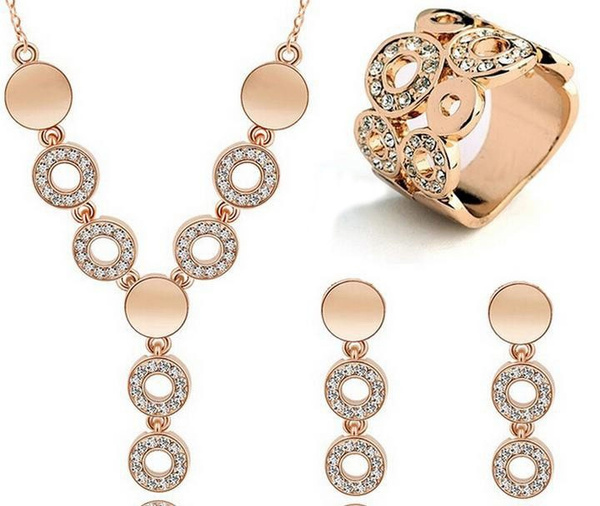 rhinestonejewelryset, Jewelry, Bridal Jewelry Set, Cheap Jewelry Set