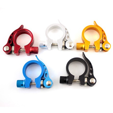 1PC 31.8mm MTB Bike Cycling Saddle Seat Post Clamp Quick Release QR Style Outdoor Sporting Goods Parts Supertop