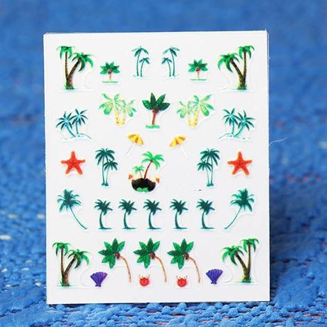 Seaside Nail Art Designs