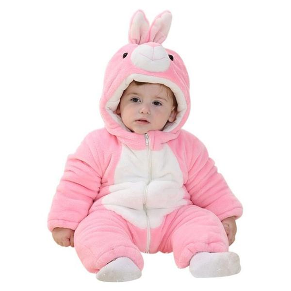 0b8b8cbc4684 Baby Unisex Spring Cute Bunny Onesie Toddler Rabbit Costume Homewear ...
