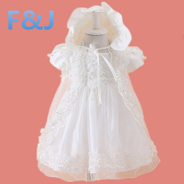Wish | Baby girls dress baby girl baptism christening gowns lace ...