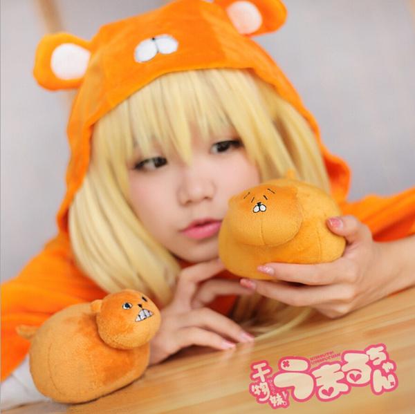 "10/"" Himouto Umaru-chan Umaru Plush Toys Cute Cosplay Stuffed Toy Doll Gift"