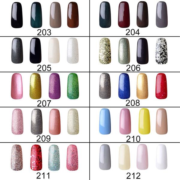 Wish | Vishine Gel Nail Polish Soak Off UV LED Nail Gel Manicure Kit ...