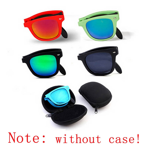 Picture of Folding Sunglasses Sun Glasses Fold Exempt Postage Sports Glasses Wayfarer Sports Eyewear Without Case