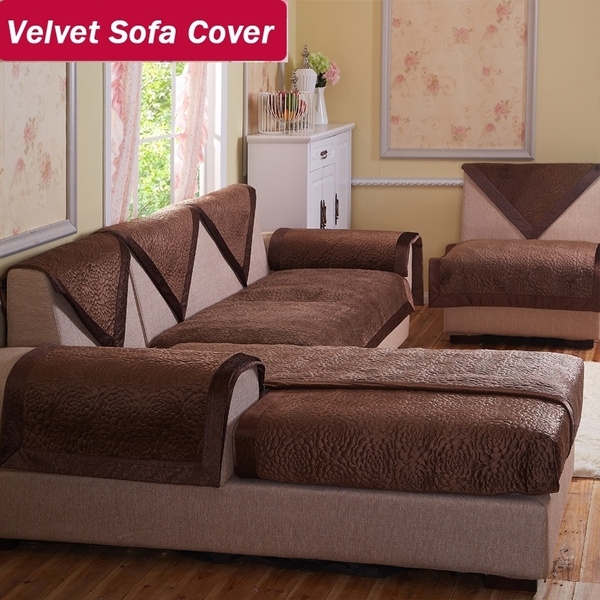 velvet fabric sofa brown decorative sofas covers double sectional modern  sofa slipcover 100 2 seater sofa armchair covers