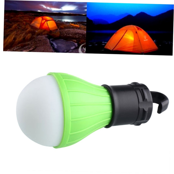 Outdoor Hanging 3LED Camping Tent Light Bulb Fishing Lantern Lamp New fs5