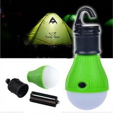 Outdoor Hanging 3LED Camping Tent Light Bulb Fishing Lantern Lamp New fs5