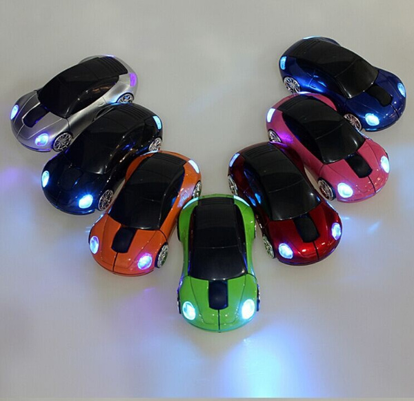 Picture of 1600dpi 2.4g 3d Car Shape Wireless Optical Mouse Usb Receiver For Laptop Pc