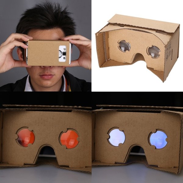 Diy Google Cardboard Virtual Reality 3d Glasses For Iphone Samsung All Smartphones Sm