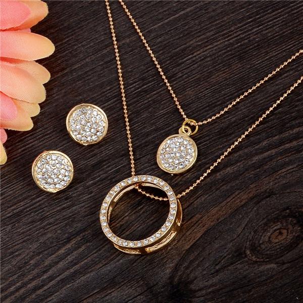 Set, Jewelry, Crystal Jewelry, Crystal