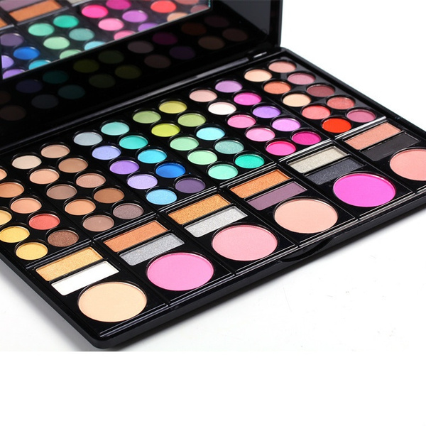 Picture of New Makeup Set 78 Colors Eyeshadow Powder Blusher Lip Gloss Combo Make Up