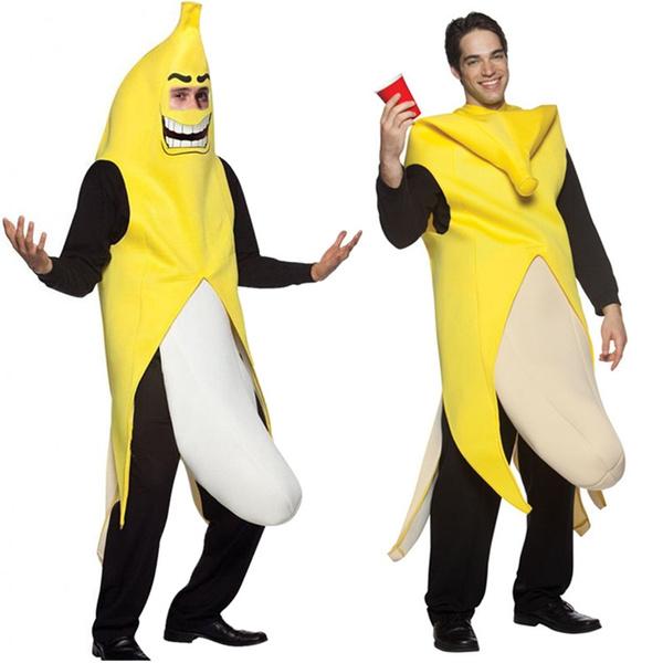 Wish   Halloween Costumes Sexy Fruit Funny Banana Costume Carnival ...