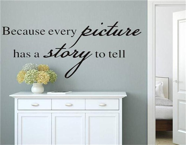 Wish Because Every Picture Has A Story To Tell Wall Decal Vinyl