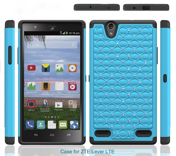 separation shoes 2ba66 f67d1 wish | Fashion Colorful PC+Silicone Phone Case For ZTE Lever LTE ...