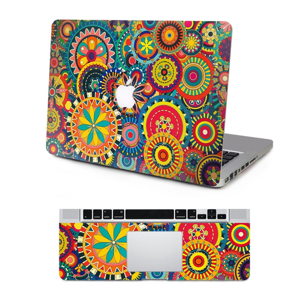 new styles 55447 ba430 Macbook Skins Mac Protection Decal MacBook Full-Cover Decal Art Decal Skin  Sticker Cover for Apple Laptop MacBook Air 11