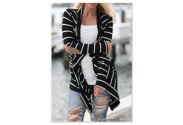 Fashion Loose Cotton Cardigan Long Sleeve Sweater For Women Big Yards Coats