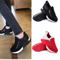 Wish | Size:36-40 Fashion Women Zip Wedge Hidden Heel