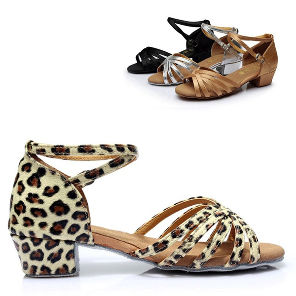 Picture of New Women Ballroom Latin Tango Dance Shoes Heeled Dancing Salsa