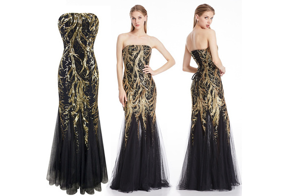 Fashion Ball Gown Women Dress With Zipper Wish
