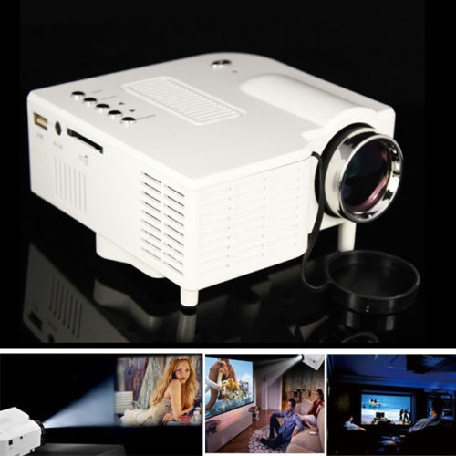 Picture of Mini Projector 1080p Hd Multimedia Led Tv Vga Hdmi Usb For Home Theater Cinema