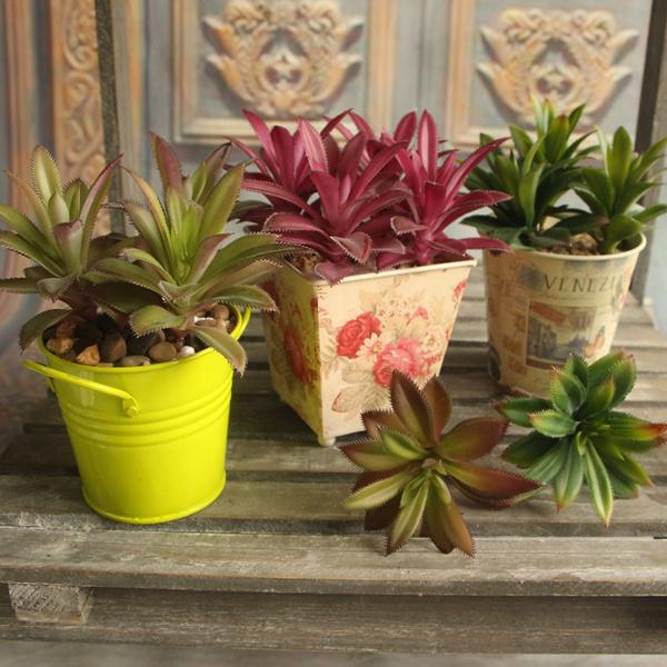 Picture of Rare Garden Succulent Grass Artificial Plant Landscape Fake Flower Garden Decor
