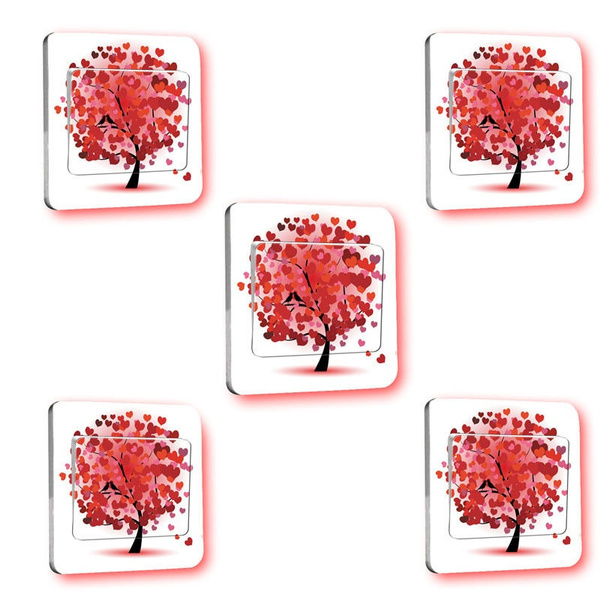 Wish Cute Switch Cover Wall Stickers Light Switch Decor Decals