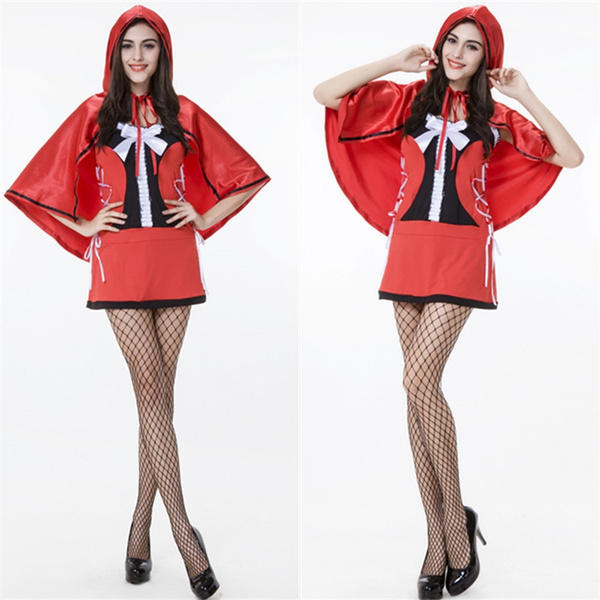 Our clothing factory direct shot Guangzhou clothing wholesale clothing LRRH  game Halloween Costume