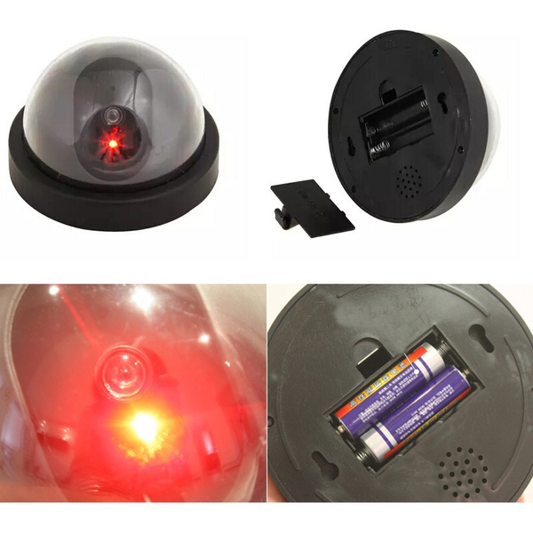 Picture of New Fake Dummy Dome Security Camera Surveillance Motion Sensor Led Light