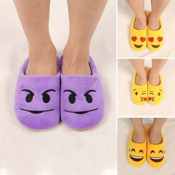 Picture of Fashion Women Men Warm Winter Warm Soft Antiskid Indoor Home Cotton Slipper