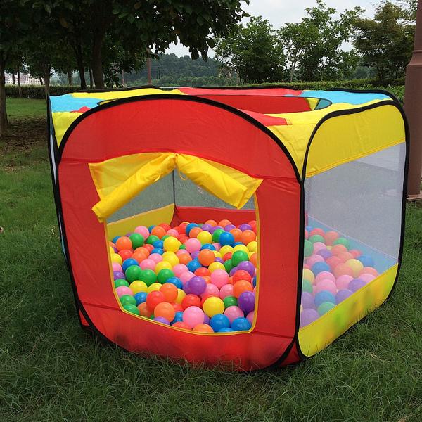 kidsplayhouse, Outdoor, playtentstunnel, Sports & Outdoors