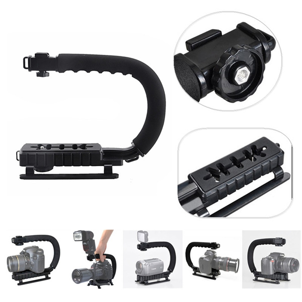 Picture of Sevenoak Cc-vh02 Pro Video Grip Handle Action Stabilizer Handle For Dslr Camera Camcorder Size 324.00 G Color Black
