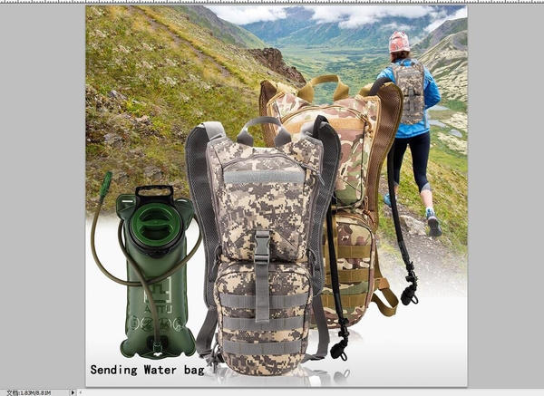 Picture of Low Price Promotion Non-toxic Outdoor Bicycle Hydration Packsbladders Road Cycling Motorcycle Water Backpacks Camelback Knapsack