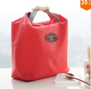 Picture of Outdoor Picnic Insulated Lunch Bag Box Container Cooler Thermal Waterproof Tote