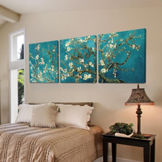 bluecanvasart, posterprint, canvaspainting, Abstract Oil Painting