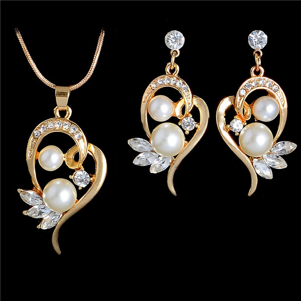 Fashion, Jewelry, gold, Crystal