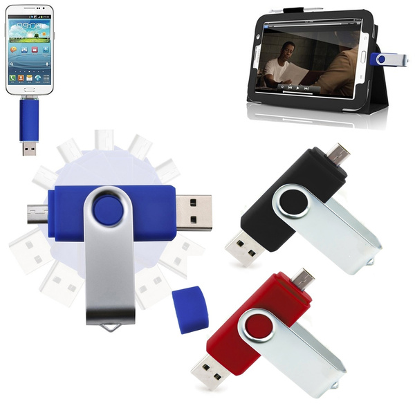 8GB Micro USB 2 0 OTG Flash Pen Drive Memory Stick U Disk for Android Smart  Phone Samsung Galaxy S5 S4 Note 4 HTC One ZTE V5 Huawei Ascend Tablet PC