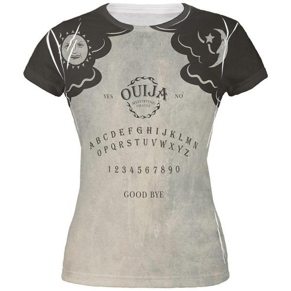 Halloween Ouija Board Costume All Over Juniors T-Shirt