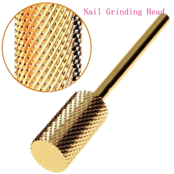 nailpolishing, goldplated, Head, art