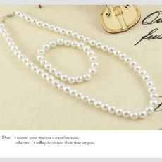 freshwaterpearlnecklace, pearljewelryset, Moda femenina, Earrings For Women