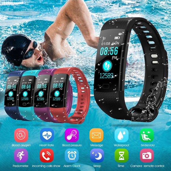 Picture of Excelvan Moving Up2 Smart Healthy Bracelet Bluetooth V4.0 Wristband With Pedometer / Sleep Monitoring / Tracking Calorie/remote Capture