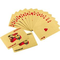 Box, goldplated, Poker, goldcard