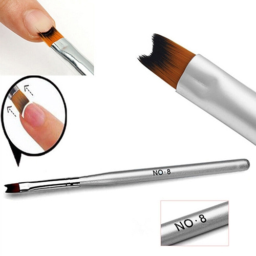 Picture of 1pc New Acrylic Uv Gel Nail Painting Drawing French Tips Manicure Pen Brush Design Size One Size